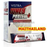 Wholesale Whey Protein Powder VISTRA Whey Protein Prices 255g (17g X 15Sachet)