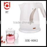 kitchen appliances kettle supplier 1.7L 360 degrees rotating cordless plastic electric kettle