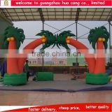 2015 New design commerical palm tree inflatable arch for sale