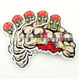 Fashion UV Protected Glossy custom temporary tattoo sticker and custom tshirts with labels label paper ---DH20313