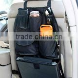 Front and Seat Back Storage back seat tray car boot organizer