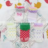 hot new products cartoon baby girls ruffles sock