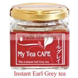 Japanese Instant Earl Grey tea ,Made in Japan instant tea powder