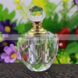 Luxurious human body oil crystal perfume bottle