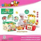 kid toy New Toys Colorful plastic kitchen toy cook game