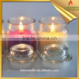 glass candle household windproof jar candle accept customized decoraction supplies candle