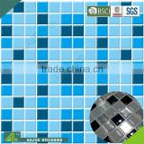 BSCI factory audit eco-friendly UV printing crystal custom epoxy mosaik self adhesive wall tile