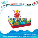 Commercial inflatable slide for different function
