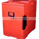 Insulated food warm cabinet hot food display container heat food holding container with FDA