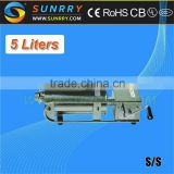 Manual churros machine with 5 liters double speed stainless steel churros filling maker machine (SUNRRY SY-CH5)