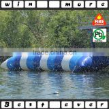 commercial inflatable water blob, water catapult blob jump water game