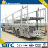 heavy duty Hydraulic lifting 3 axles car carrier trailers/car transport truck trailer for sale