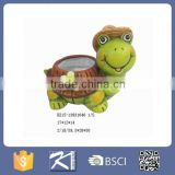 hotsale garden decoration animal shape ceramic flower pots