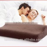 100% polyester memory foam pillow forchina facotry memory foam pillow LS-P-011-D medicated pillow