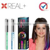 Many colors REAL PLUS blue hair dye/herbal hair dye shampoo/dye brands professional hair