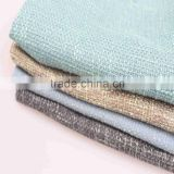 hotel linen textile flax fabric for hometextile shoe linen yarn fabric