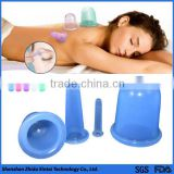 Hot sale anti-cellulite silicone vacuum massage cupping therapy hijama cup