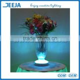 LED Light Up Hookah Base/Remote Control Rechargeable LED Flower Vase Light Color Changed