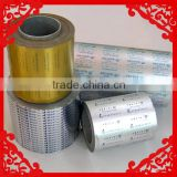pharmaceutical /blister aluminium/aluminum foil china manufacturer for packaging printing