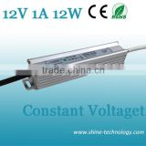 High quality ac to dc 220v 12v 1a 12w power supply trafo, waterproof ip67 ip68 swimming pool light 12v transformers