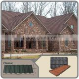 Low cost of metal roofing Sheets/3-10% discount metal roofing with stone coated/Classic stone coated steel zinc aluminium roof