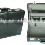 latest fashion long top design briefcase bag attache case for man in PVC leather alibaba china