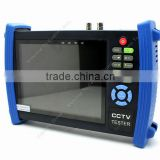 "7""Monitor Security Camera CCTV Tester Ping IP Address/POE Check+4G Card HVT-3600"
