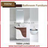 2016 new design Bathroom vanity modern style wooden bathroom wall cabinet color match storage bathroom cabinet