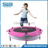 Outdoor trampoline for children with Steel frame bungee trampoline with CE SGS TUV certification