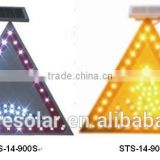 solar traffic pedestrian signs/illuminated traffic pedestrian signs/solar traffic warning pedestrian sign
