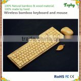 Ebay/Amazon hot sell bamboo & wood mechanical keyboard and mouse usb wireless bluetooth keyboard with german layout available