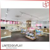 Beauty Store Interior Design For Cosmetic Display racks