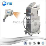 Top Level Equipment Professional Two Handles Diode Laser 808nm 12x12mm 810nm /OPT IPL E-light 2 In 1 Beauty Machine Beard