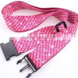 colorful heat transfer polyester luggage belt, travel luggage belt, luggage strap