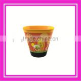 cemetery flower pot & plastic flower pot