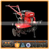 Field Use Electric Starter Hand Push Cultivator Gasoline Tiller With Parts