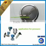 China Tantalum titanium 316l foil diaphragm differential pressure sensor