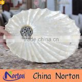 simple design resin fruit tray for weeding NTRS-TD014A