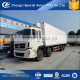 8*4 12 wheeler van freezer trucks for sale, frozen truck for sale, frozen food van