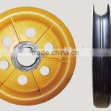 heavy duty hot rolling sheaves,wire rope sheaves for hoisting crane, hot-rolling pulley block