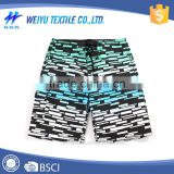 Men's beach sublimation print 100% polyester board shorts