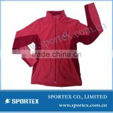 2013 Ladies Long Sleeve Polar Fleece Jacket/Polar Fleece Training Jacket/Sport jacket wear