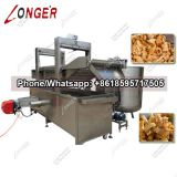Industrial Automatic Pork Skin Fryer Machine|Pork Rinds Frying Machine