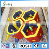 SUNWAY Top quality inflatable bouncers jump castle playhouse for kids