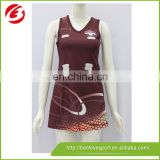 Top design custom cheap netball dresses/netball jersey/netball uniforms