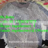 Cheap top quality clothing used mixed sweater