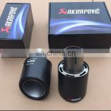 Akrapovic Stainless Steel With Carbon Fiber Surface Exhaust Tip