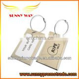 High quality aluminum luggage tag with your LOGO