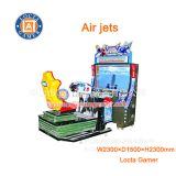 Zhongshan amusement game machine simulator Air jets car driving simulator