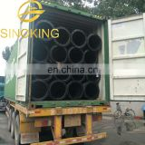 Rubber pipe on dredger